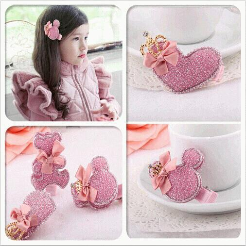 Гаджет  New Arrival styling tools cute bear love hairpin barrettes hair accessories for women girl children make you fashion None Одежда и аксессуары