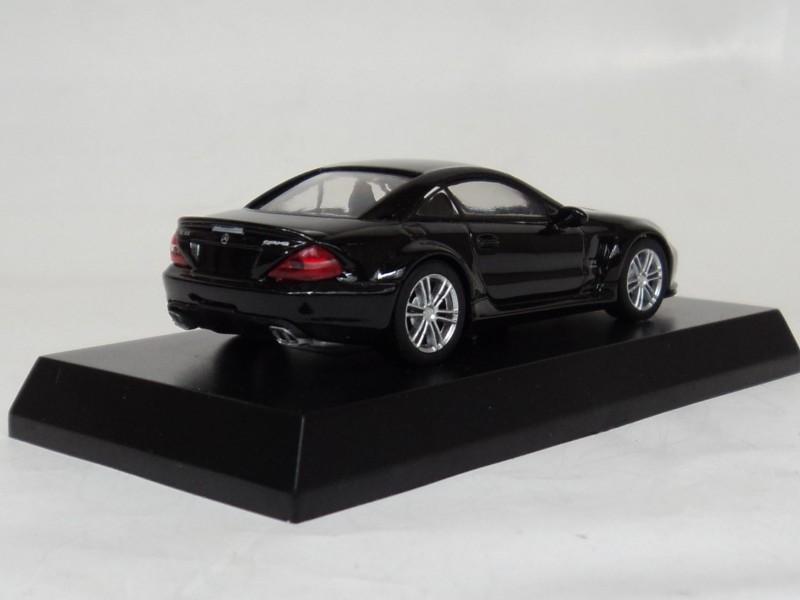 1:64 MERCEDES-BENZ SL Black Collection 65 Benz [Beijing] Kyosho
