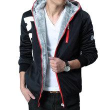 Hoodies 2015 new Men's sweatshirt tracksuit men print letters full sleeve moleton masculino hoodie zipper sudaderas hombre MC90(China (Mainland))