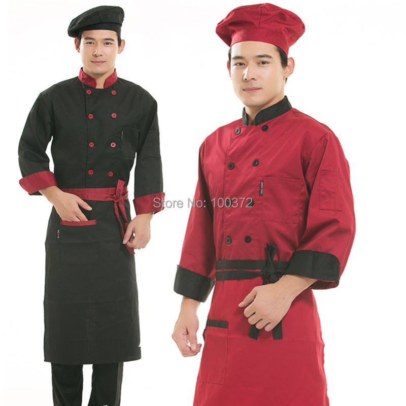 how to wear chef uniform