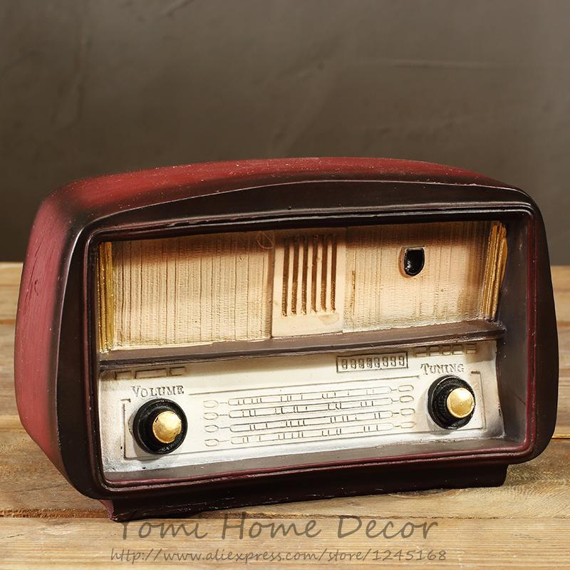 Vintage antique style radio telephone typewriter camera for Classic house radio