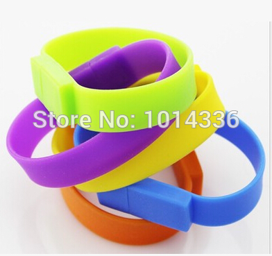 10pcs/lot Wholesale fashion wristband cool Hand Strap USB memory flash stick pendrive /GIFT S363 free shipping(China (Mainland))