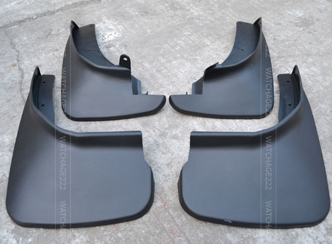 Accessories FIT FOR 2011 2012 2013 2014 FORD EXPLORER MUD FLAP FLAPS SPLASH GUARDS MUDGUARD SET(China (Mainland))