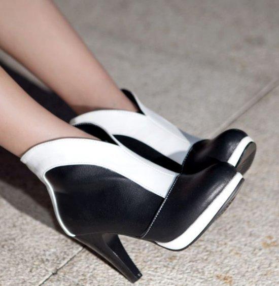 32 – 48 de salto alto metade curto Botas outono inverno Botas Botas de moda sapatos de salto alto calçados P6795 quente