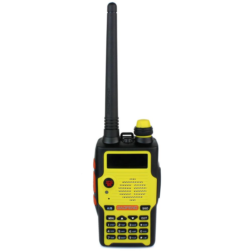 New BaoFeng Portable Ham CB Radio WalkieTalkie BF-E500S VHF+UHF 5W Dual Band 128CH FM Radio Two Way Radio Hf Transceiver A7103A(China (Mainland))