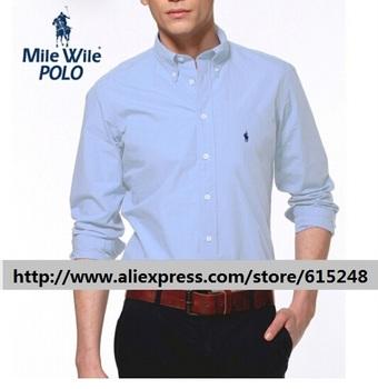 Бесплатная доставка 2015 Высокое качество с длинными рукавами бренд мужской мужской деловой свободного покроя платье рабочая одежда размер евро Camisa Masculina