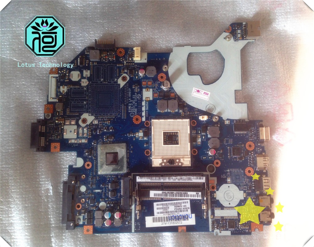 MBRCG02004 laptop motherboard for acer aspire 5750 5750G P5WE0 LA-6901P Rev 1.0 MB.RCG02.004 Detecting 100% perfect the work(China (Mainland))