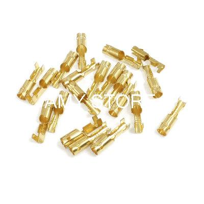 3mm Diameter Wire Brass Female Crimp Terminal Connectors(China (Mainland))