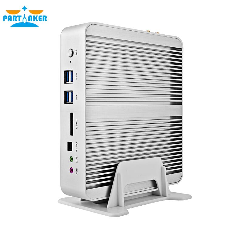 i5 5257u OUT OF STOCK 5th Gen CPU i5 5250U HD 6100 Fanless Barebone Mini PC Win10 Linux HTPC Server 2 Lan wifi 300M included(China (Mainland))