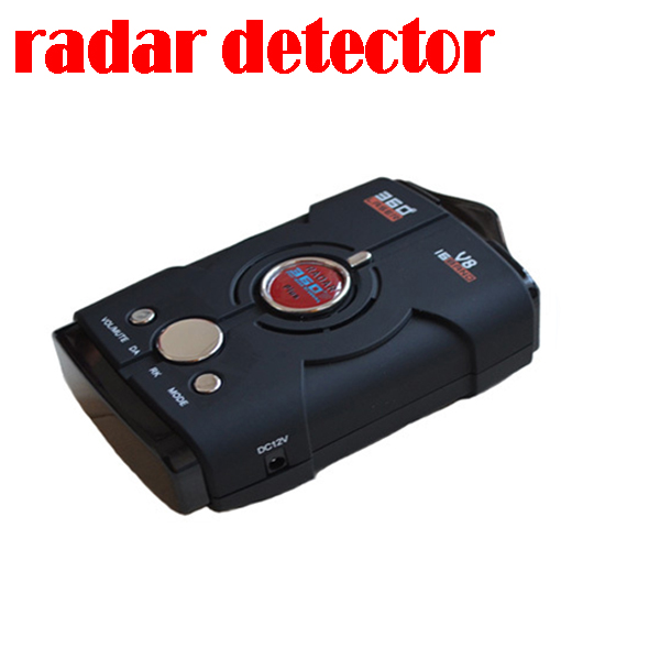 50% shipping fee Hi-quality Car radar Car Anti Radar Detector vehicle speed control detector Russian/English Speaking(China (Mainland))