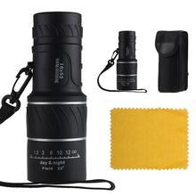 Day & Night Vision 16 x 52 Dual Focus óptico Monocular caza telescopio exterior