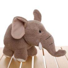 stuffed animal gray elephant  plush toy about 22cm elephant doll t2903