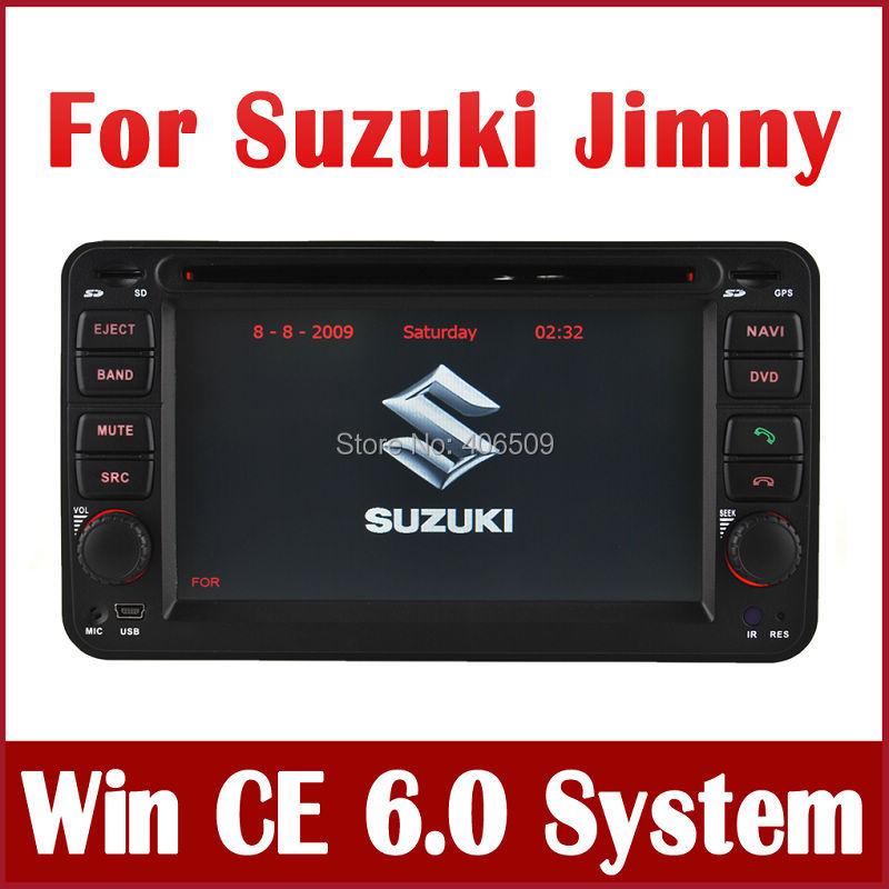 Head Unit Car DVD Player for Suzuki Jimny 2008 2009 2010 with GPS Navigation Radio Bluetooth TV CD MP3 USB AUX Map Stereo Video(China (Mainland))