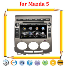 Free shipping!!! Special Mazda 5 Car DVD with GPS Navigation Bluetooth Radio RDS  iPod TV(2005-2009)+Free Rearview Camera !!(China (Mainland))