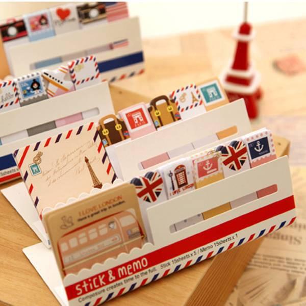 Mini Memo Pad Sticky Note Kawaii Paper Scrapbooking Sticker Pads Creative Korean Stationery Free Shipping(China (Mainland))
