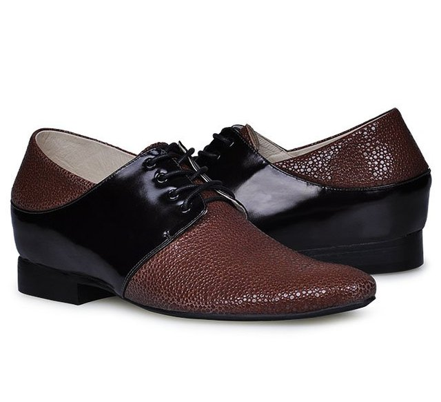 6252-new 2013 Brown Europe Shoes with Hidden Heels make Men grow taller 6CM, hot sell men dress shoes Oxford shoes for men/boys