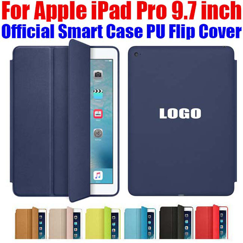 Newest official Smart Case For Apple iPad Pro 9.7 inch Ultra thin PU Leather Flip Cover For iPad Pro IPRS3(China (Mainland))