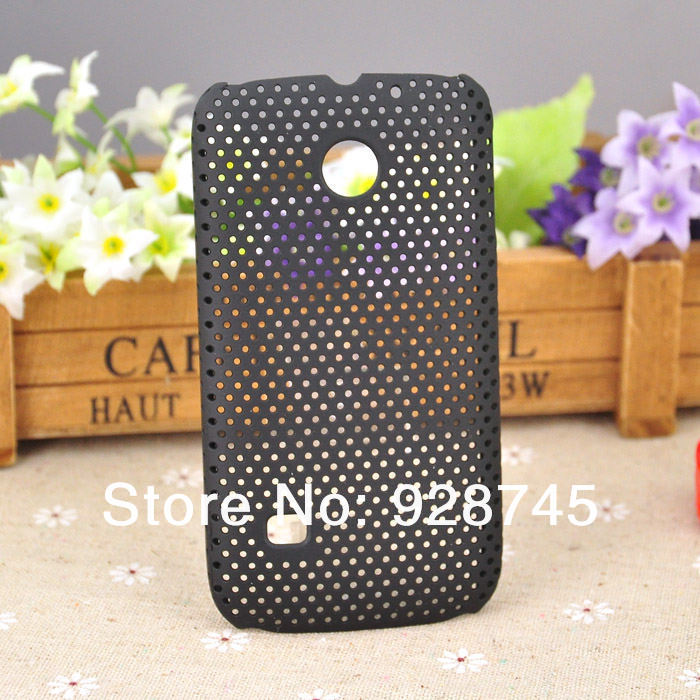 Huawei C8650 Cell Phone Mesh Back Hard Cases Hole Covers Best Phone Gifts Free Shipping 10PCS/LOTS Wholesale(China (Mainland))