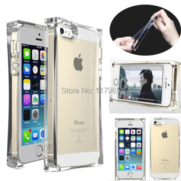 for iphone 5 6 6plus silicon flexible ice case TPU soft gel transpaarent clear phone case cover skin shells 2015 EC216(China (Mainland))