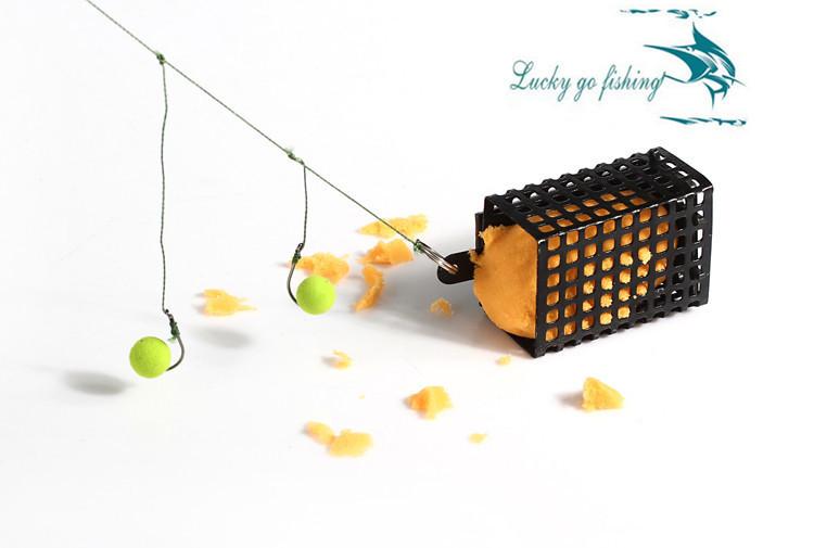 Гаджет  4pcs Fishing Bait Cage Stainless Steel Wire Trap Basket Feeder Holder Fishing Lure Bait Cage Fish Bait Lure Fishing Accessories None Спорт и развлечения