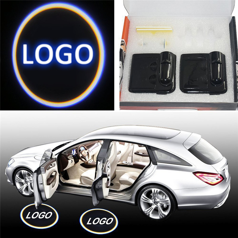 Universal for KIA Auto Lighting of Door Badge Logo Led Car Ghost Shadow Lights Leading the Trends of Vehicle Lighting Sources(China (Mainland))