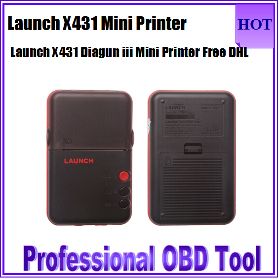 Launch X431 Mini Diagun Printer Top Quality X431 Diagun Printer Works With X431 Diagun and Diagun iii Mini Printer Free Shipping(China (Mainland))