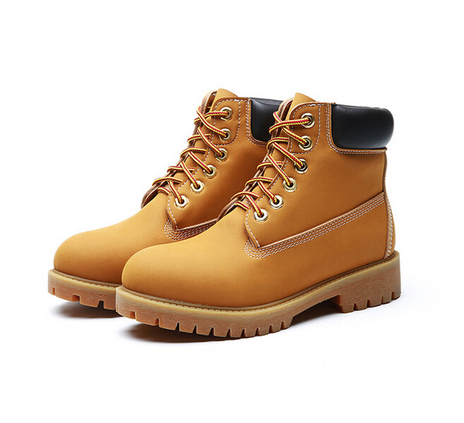 Elegant Yellow Lace Up Zip Up Funky Combat Ankle Boots Shoes
