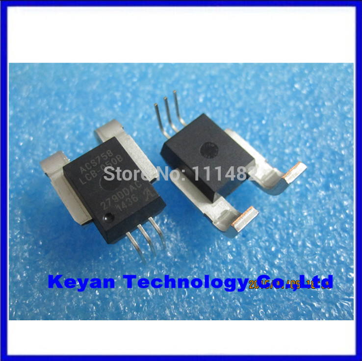10 PCS ACS758LCB-050B CB-5 ACS758 Thermally Enhanced, Fully Integrated, Hall Effect-Based Linear Current Sensor IC(China (Mainland))