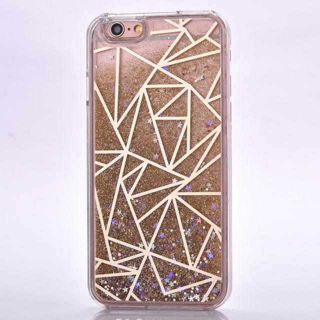 Case Iphone 5/5S/6/6S/6Plus/6SPlus Geometric Glitter różne wzory