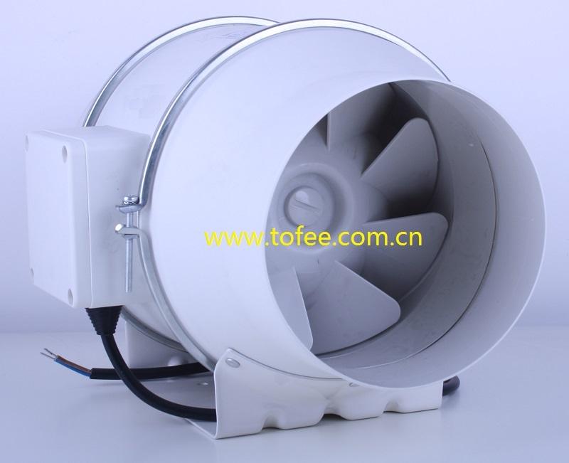 10 Inline Duct Fan : Mixed flow inline duct fan g