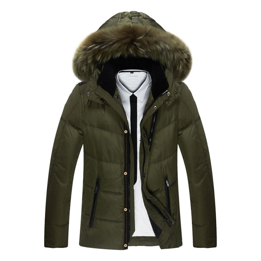 Winter Jacket Men High Qualtiy Down Nylon Men Clothes Winter Outdoor Warm Sport Jacket Men 5