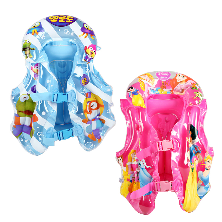 Odd shells child lifejacket Princess penguins Swim Vest inflatable toys and children learn swimming(China (Mainland))