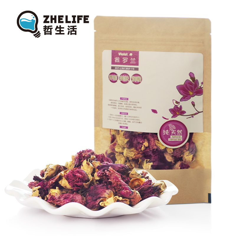 Flower tea natural Violet herbal tea detoxifies , 50 6<br><br>Aliexpress