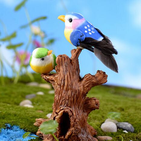 Achetez en gros r sine jardin oiseaux en ligne des for Oiseaux artificiels de decoration