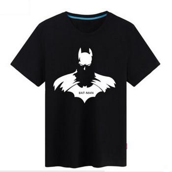 Batman T Shirt Short Sleeve Vintage T Shirts Casual T-shirt Batman Tees