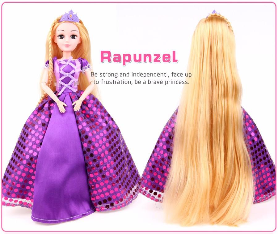 Кукла рапунцель алиэкспресс