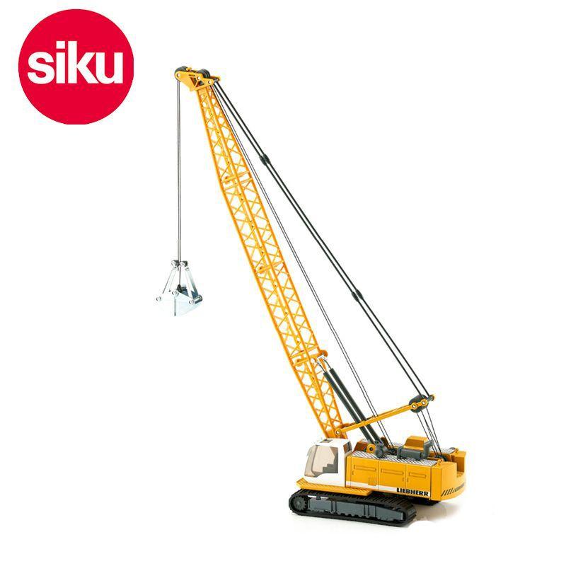 siku 3536 Liebherr cable excavator 1:50 Crane alloy model car toy(China (Mainland))