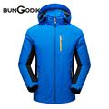 Waterproof Windproof Windbreaker Outdoor Jacket Men Women Ski Fishing Camping Hiking Mountaineering Hunting Clothes Hooded 4XL