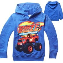 New 2015 boys t shirt t-shirts kids baby Blaze And The Monster Machines children clothing clothes roupas infantis menino