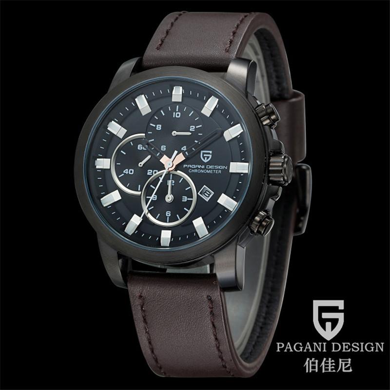 2015 PGANI DESIGN watches men luxury brand fashion quartz watch men sport military wristwatches relogio masculino Chronograph<br><br>Aliexpress
