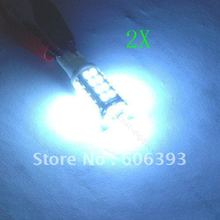 2 X SMD 38 LED T10 194 Wedge Car Light Bulb Lamp White