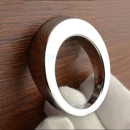 Modern simple single hole small knob round zinc alloy for Contemporary cabinet pulls and knobs