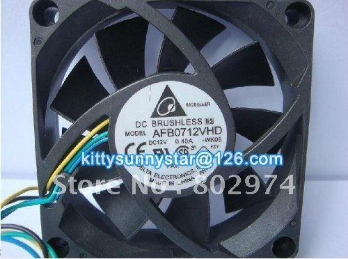 Free shipping Delta 7020 12V 0.4A AFB0712VHD AMD CPU Cooler Fan,Cooling Fans(China (Mainland))