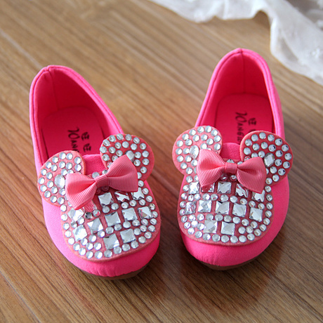 2015 New Arrival Shoes Kids Girl Princess single Shoes Children Comfortable flat casual shoes(China (Mainland))