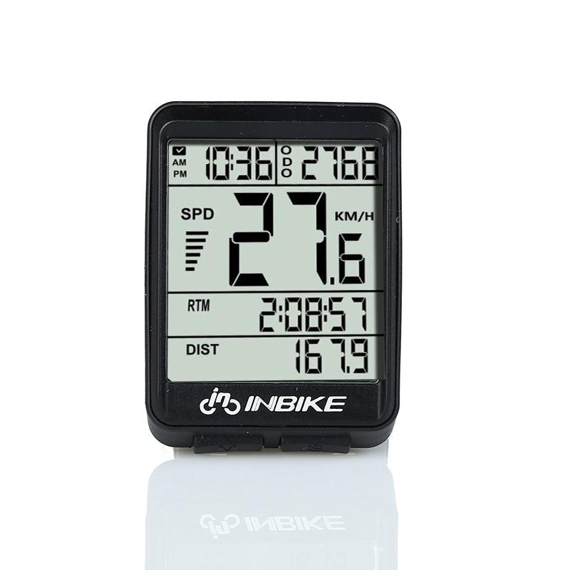 INBIKE Bike Computer Bicycle Computer Wireless Waterproof Speedometer Cycle Velometer Odometer Bike Accessories Stopwatch(China (Mainland))