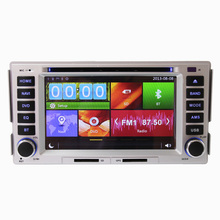 6.2 inch Touch Screen Car DVD Player GPS Navigation System Hyundai Santa Fe 2006 2007 2008 2009 2010 2011 2012 - Afly Multimedia Store store