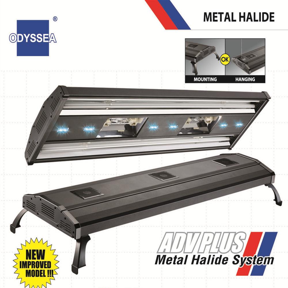 "36"" Metal Halide System + T5 306W /406W Plant freshwater Marine marine ODYSSEA Aquarium/Fish tank light/lighting fixture/lamp(China (Mainland))"