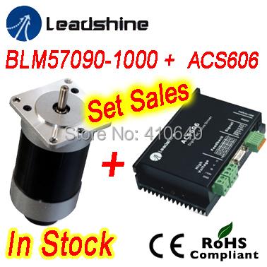 Set Sales Leadshine Blm57130 Brushless Dc Servo Motor And