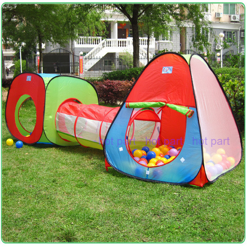 2015 new portable children kids pop up adventure play tent for Pop up garten pool