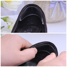 1Pair Silicone Gel Heel Cushion Shoe Pads Foot Care insole New arrival(China (Mainland))